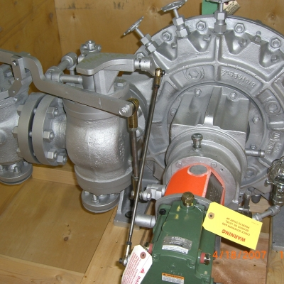 Coppus Steam Turbines RLA23L